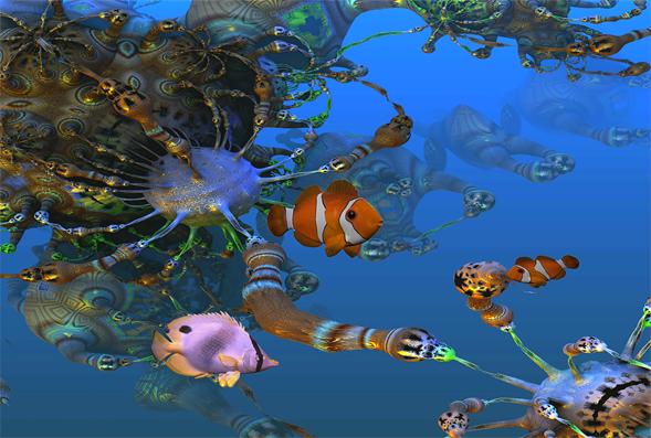 Ruvitex 3D Decor - Deep Ocean Product Image