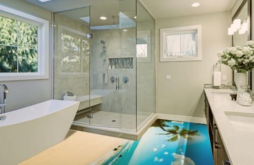 Bathroom Flooring Decor