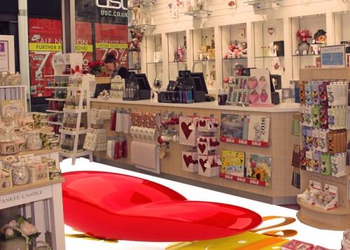 Gift Shop Flooring Decor