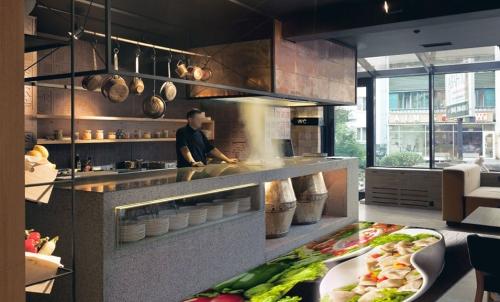 Flooring Decor for Restaurants