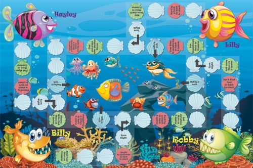 "Board-game-""Sea-friends"""