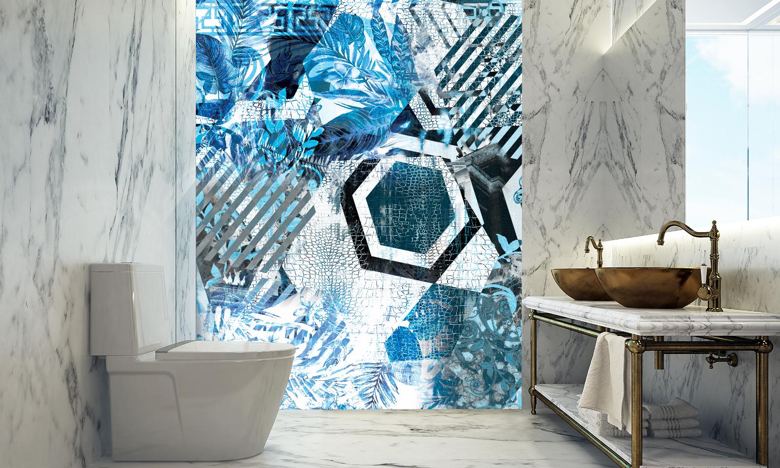 6 Decor Ideas For Your Bathroom Without Removing Tiles Ruvitex Bathroom Wall Decor Ruvitex 3d Decors Ruvimat Ruvitex Armofol Ruviflex Rdc Regional Distribution Company Eood